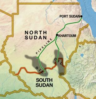 la proxima guerra sudan del sur petroleo oil eeuu usa china russia rusia mapa
