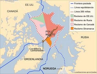 la proxima guerra oceano artico deshielo petroleo nuevas rutas navegacion